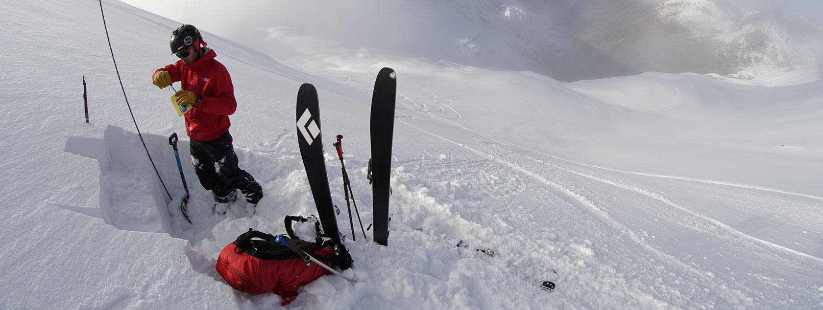 Check your avalanche safety equipment