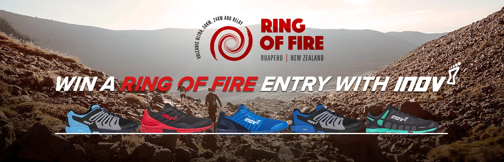 Win with Inov-8 and Ring of Fire